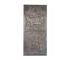 Vintage Carving Wall Sculpture Kamasutra Love Passion Desire Hand Carved Panels