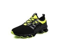 Patchwork Lace-Up Mens Sneakers