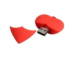 8GB Red Heart Mode USB 2.0 Flash Drive Thumb Storage Pen Memory U Disk
