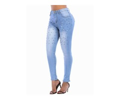 Full Length Slim Womens Jeans