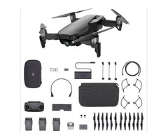 DJI Mavic Air RC Drone 32MP Spherical Panorama Photo - BLACK SINGLE VERSION/CN PLUG