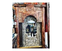 RUSTIC ARCH VERANDA GATE TEAK WINDOW Haveli Design FARMHOUSE DECOR
