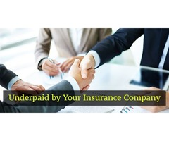 Underpaid by Your Insurance Company