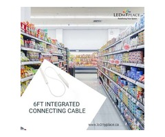Use 6ft Integrated Connecting Cable With Integrated LED Tubes For Utmost Lighting Results
