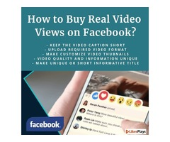 Buy More Views on Your Facebook Videos