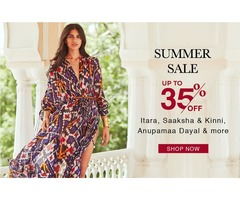 Summer Sale: Upto 35% Off on Womens Clothing - Aza Fashions