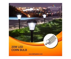 Install 20W LED Corn Bulbs For Outdoor Lighting Purposes