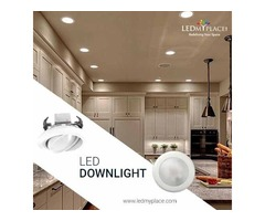 High Efficiency of LED DownLights Try Now