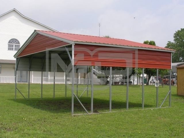 Buy affordable Vertical Metal Carport Kits with Wide Panels | free-classifieds-usa.com