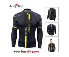 Mens Long Sleeve Jersey – 4 U Cycling