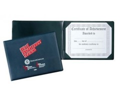 Buy Leatherette certificate holder, Certificate covers, Award holders