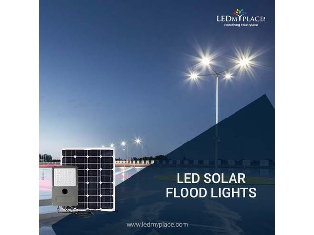Installing Energy Efficient 60w LED Solar Flood Light At Outdoor Locations | free-classifieds-usa.com