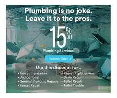 Plumber - Clean & On Time | Raleigh's Plumbing Experts
