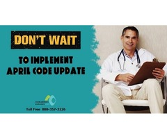 Don't Wait to Implement April Code Update