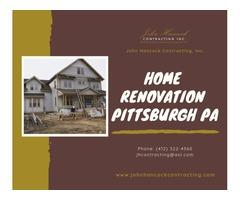 Home Renovation Pittsburgh PA