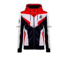 Avengrs Endgame Quantum Realm Tech Suit Cotton Hoodie Jacket