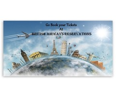 Go Book your Tickets at British Airlines Reservations