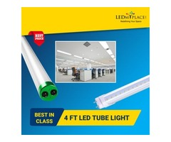 Use Ballast Compatible 4ft LED Tubes that are Easy to Install