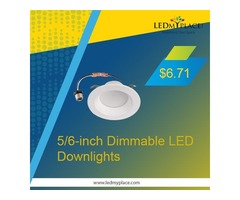 Buy Now 5/6-inch Dimmable LED Downlights On Sale