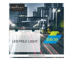 Discount is Running Out- Buy LED Pole Lights Now