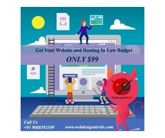 Get Your Website and Hosting USD99 In Low Budget