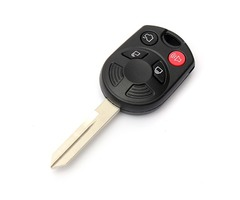 4 Button Replacement Remote Entry Keyless Combo Key For Ford Escape