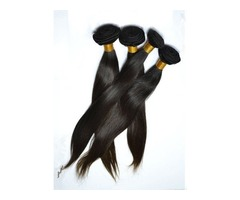 Superb Wholesale Straight Human Hair Weave 100g/Piece