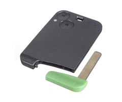 Keyless Remote Smart Key Shell Case Uncut Blade For Renault Laguna