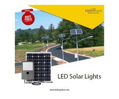 Install Eco-Friendly LED Solar Lights At Outdoor Places