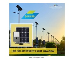 Switch to LED Solar Street Light to Save Your Money