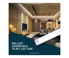 Buy Ballast Compatible 20w LED Tube For Graceful Indoor Ambience