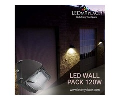 120W LED Wall Pack Lights Deliver Outstanding Lighting Results