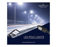 LED Pole Lights  - Ideal For Outdoor Area Lighting!