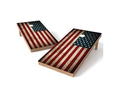 Buy an American Flag Cornhole Game Set at an Affordable Price