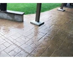 Hire Stamped Concrete Contractor To Décor Your Patio