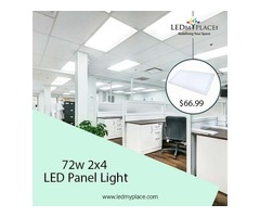 Install Sleek And Elegant Designed LED Panel Light Matching The Décor