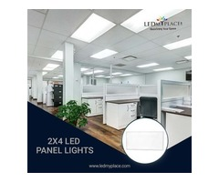 Make Offices More Aesthetic By Installing 2x4 LED Panel Light