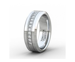 Tungsten Wedding Rings for Men Online