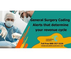 General Surgery Coding Alerts that determine your revenue cycle