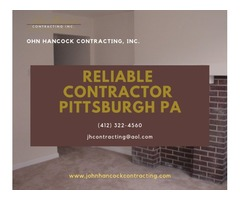 Reliable Contractor Pittsburgh PA