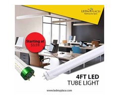 Saving Your Energy By Installing 4ft LED Tube Light