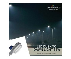 Get Photocell Sensor Enabled LED Dusk to Dawn Light For Outdoors