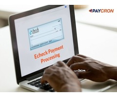 Accept eCheck Payments