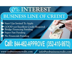 0% Interest Business Line of Credit