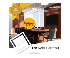 Enhance Office Lighting With The Best LED Panel Lights 2x4 - LEDMyplace