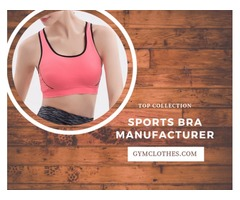 Wholesale Sports Bra At Low Cost; Contact 'Gym Clothes'
