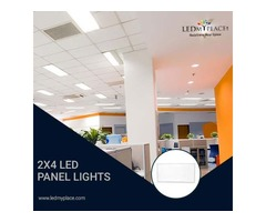 Install Energy-Efficient LED Panel Light 2x4 For Commercial Use
