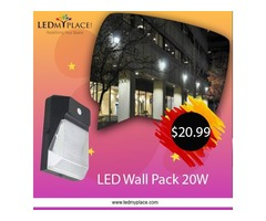 Buy Now 20W LED Wall Pack Forward Throw On Sale