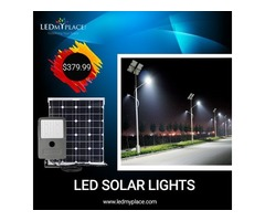 Switch to LED Solar Lights as the most Ideal Outdoor Lighting system