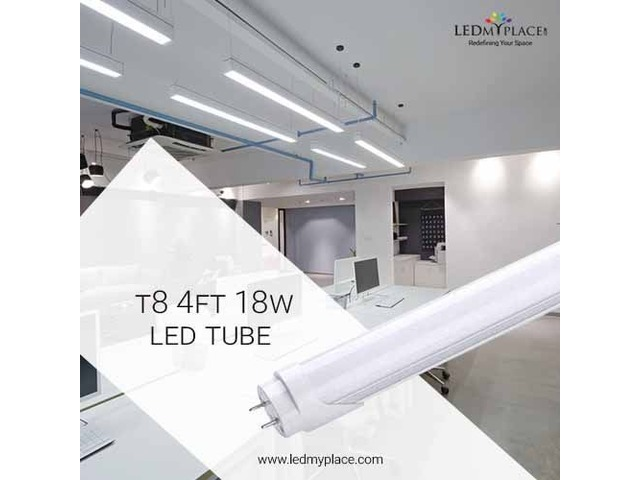 Install 4FT LED Tube Lights Inside The Home To Appeal Guests | free-classifieds-usa.com
